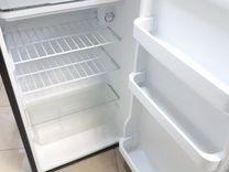 Холодильник Bosch серебристо черный