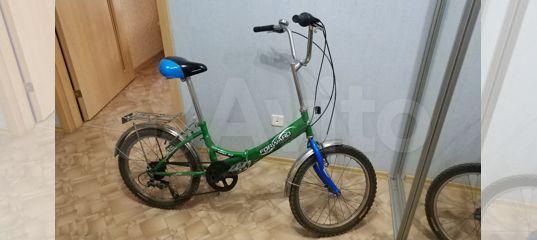 Велосипед подростковый складной купить в Самарской области | Хобби и отдых | Авито