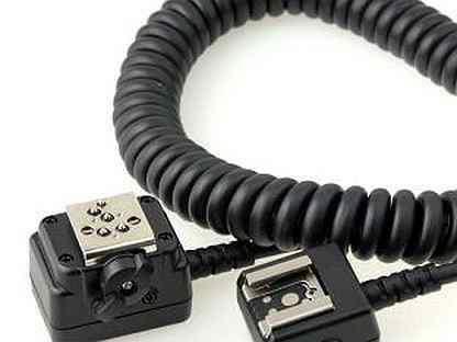 Кронштейн для накамерных вспышек и выносной кабель