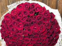 Букет из 101 роз 70см.Доставка цветов в Ставрополе