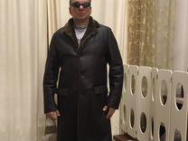 Дубленка-пальто меховая Boss, размер 50-52