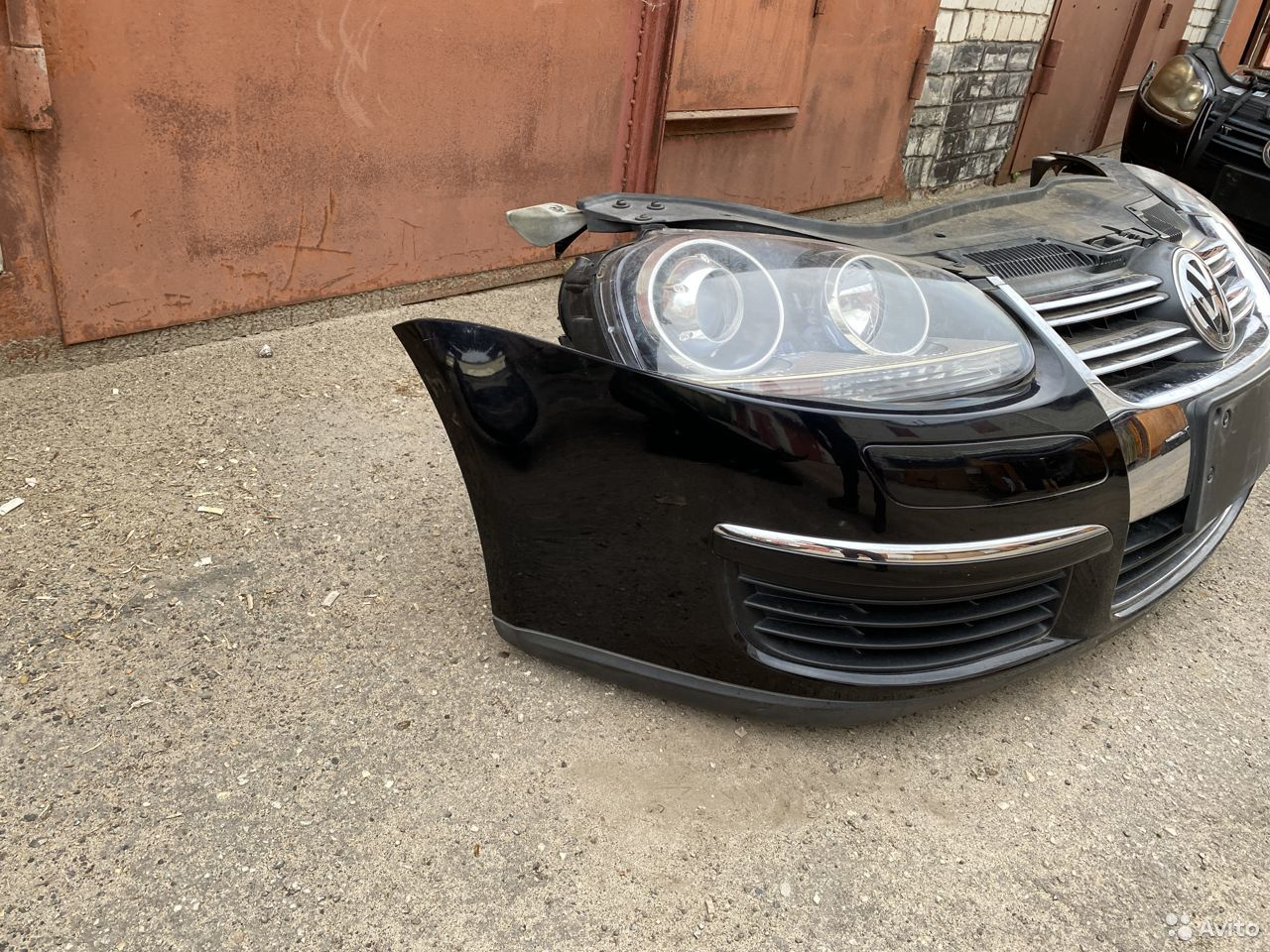 Ноускат черный Volkswagen Jetta 5  89534684247 купить 2
