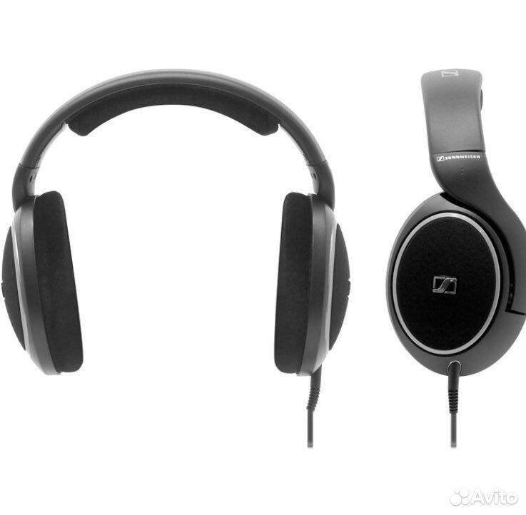 Проводные наушники Sennheiser HD 558 черный  89049949026 купить 4
