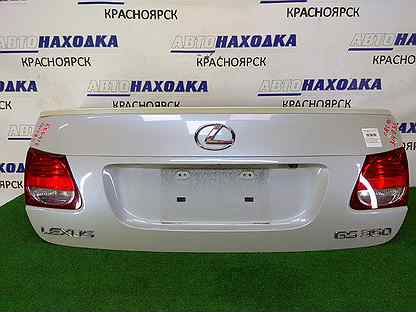 Крышка багажника задняя Lexus Gs350 GRS191 2GR-FSE