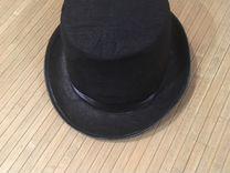 Шляпа цилиндр для мальчика 7-10 лет