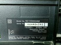 Видеомагнитофон Panasonic NV-HD650