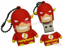 Флешка герои marvel mini flash красны 2Гб