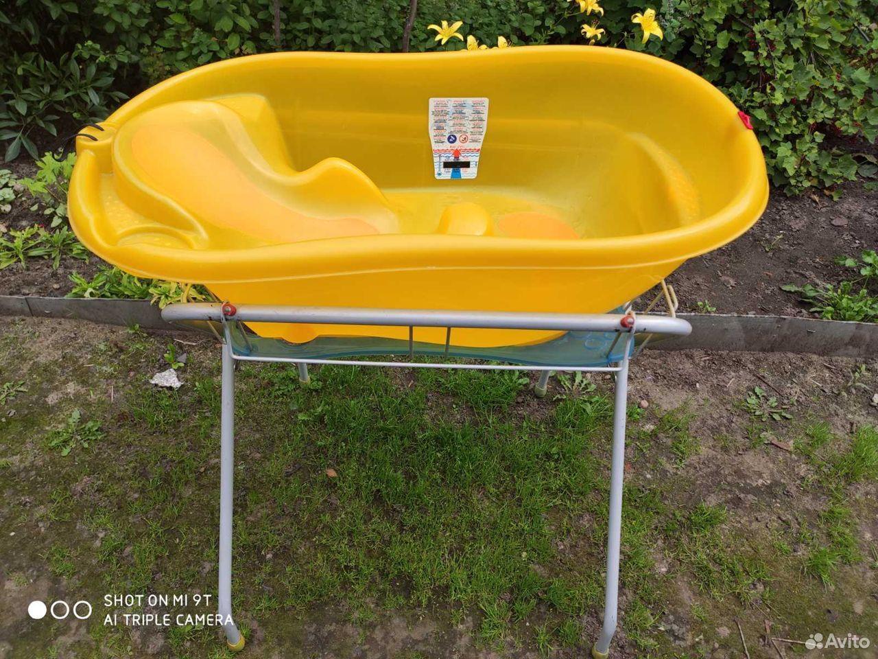 Ванночка для купания с подставкой ok baby  89158294922 купить 1