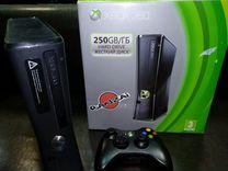 Xbox 360 Freebut на гарантии
