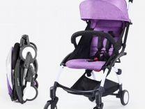 Baby time бэби тайм компактная коляска на плечо